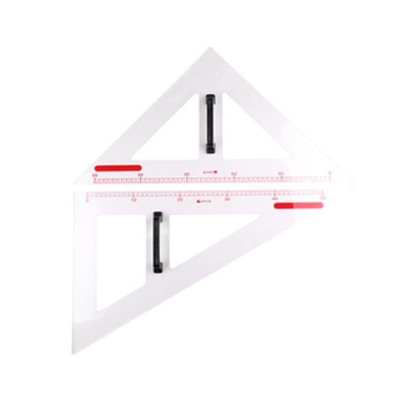 송우 교수용 삼각자 세트 (정삼각형/이등변삼각형)