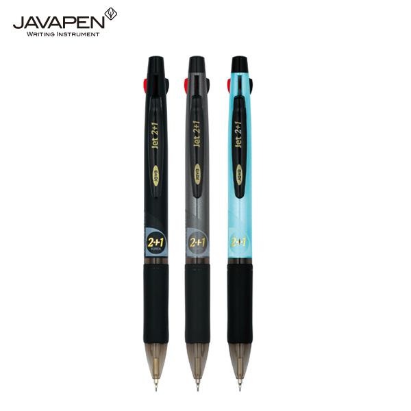 자바 제트2+1 유성 멀티펜 (0.7mm)