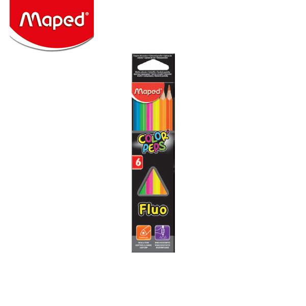 마패드 컬러펩스 형광 색연필 (832003)