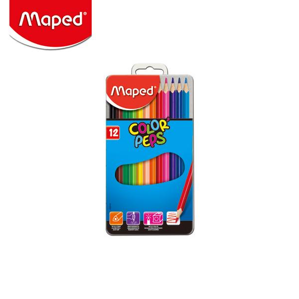 마패드 컬러펩스 일반 색연필 틴 12색  (832014)