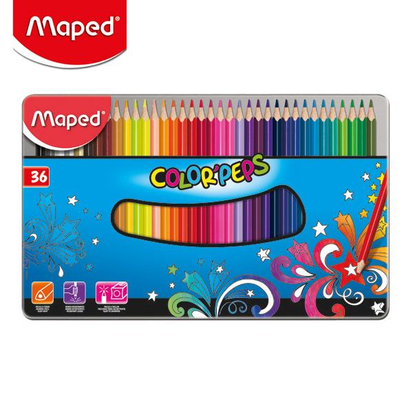 마패드 컬러펩스 일반 색연필 틴 36색  (832056)