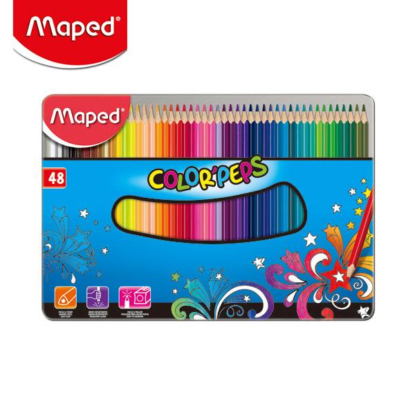 마패드 컬러펩스 일반 색연필 틴 48색  (832058)