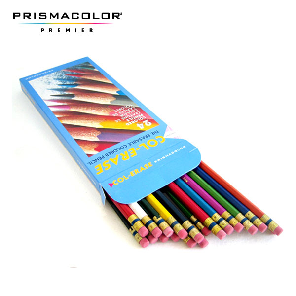 샌포드 COL-ERASE 애니메이션 색연필 24색세트