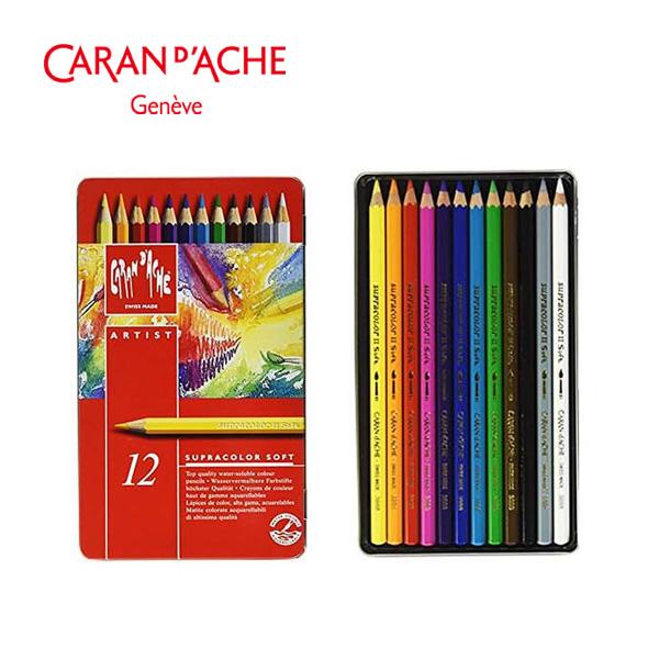 까렌다쉬 수프라컬러 수채색연필 12색 (3888312)
